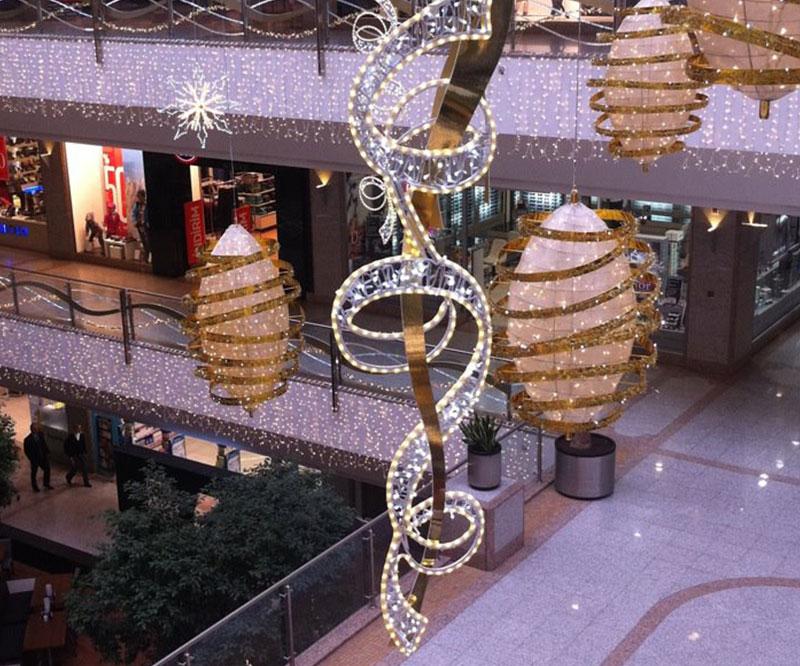 Alışveriş Merkezi Işık Süsleme