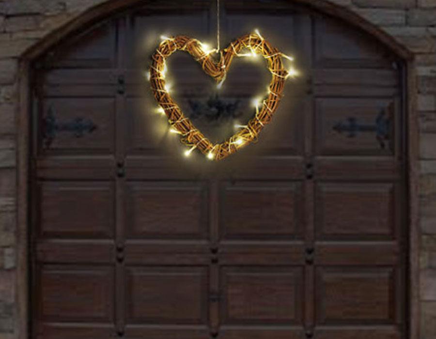 Sevgililer Günü Kalpli Işık Süsleme