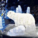 Işık Süsleme, LED Işıklı Kutup Ayısı Yapımı, AVM Yılbaşı LED Işıklı Fotoğraf Köşesi,