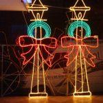 Işık Süsleme, Led Işıklı Sokak Lambası Süsleme, Yılbaşı Led Işıklı Sokak Lambası Yapımı,