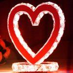 Işıklı Kristal Kalp