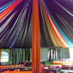 Kubbe Çadır Kumaş Süsleme