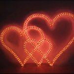 Sevgililer Günü Işık Süslemeleri